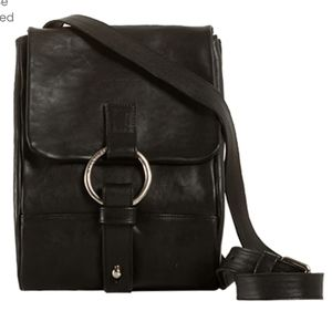 Legnosa Leather Sling Bag / Made In Italy